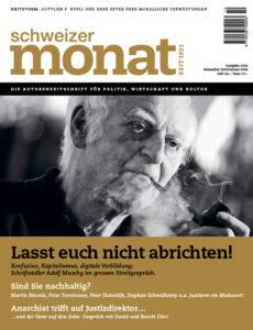 """<a href=""""https://schweizermonat.ch/issue/ausgabe-1012-dezember-2013/"""" class="""""""">Ausgabe 1012 - Dezember 2013</a>"""
