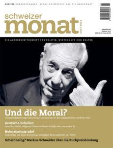 "<a href=""https://schweizermonat.ch/issue/ausgabe-993-februar-2012/"" class="""">Ausgabe 993 - Februar 2012</a>"