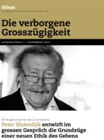 Cover der Ausgabe: Die verborgene Grosszügigkeit