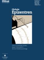 Cover der Ausgabe: Globale Epizentren
