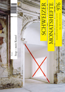 "<a href=""https://schweizermonat.ch/issue/ausgabe-976-maerz-2010/"" class="""">Ausgabe 976 - März 2010</a>"