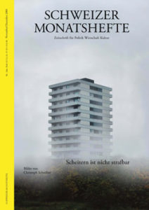 """<a href=""""https://schweizermonat.ch/issue/ausgabe-950-dezember-2006/"""" class="""""""">Ausgabe 950 - Dezember 2006</a>"""