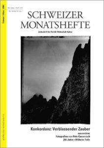 "<a href=""https://schweizermonat.ch/issue/ausgabe-931-februar-2004/"" class="""">Ausgabe 931 - Februar 2004</a>"