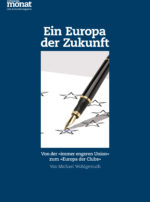 Cover der Ausgabe: Ein Europa der Zukunft