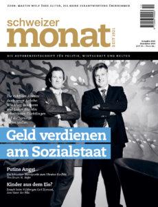 """<a href=""""https://schweizermonat.ch/issue/ausgabe-1022-dezember-2014/"""" class="""""""">Ausgabe 1022 - Dezember 2014</a>"""