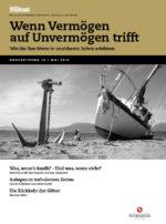 Cover der Ausgabe: Wenn Vermögen auf Unvermögen trifft
