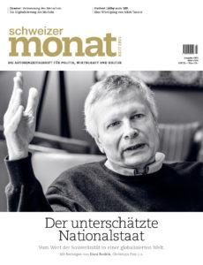 "<a href=""https://schweizermonat.ch/issue/ausgabe-1054-maerz-2018/"" class="""">Ausgabe 1054 - März 2018</a>"
