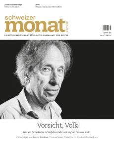 """<a href=""""https://schweizermonat.ch/issue/ausgabe-1070-oktober-2019/"""" class="""""""">Ausgabe 1070 - Oktober 2019</a>"""