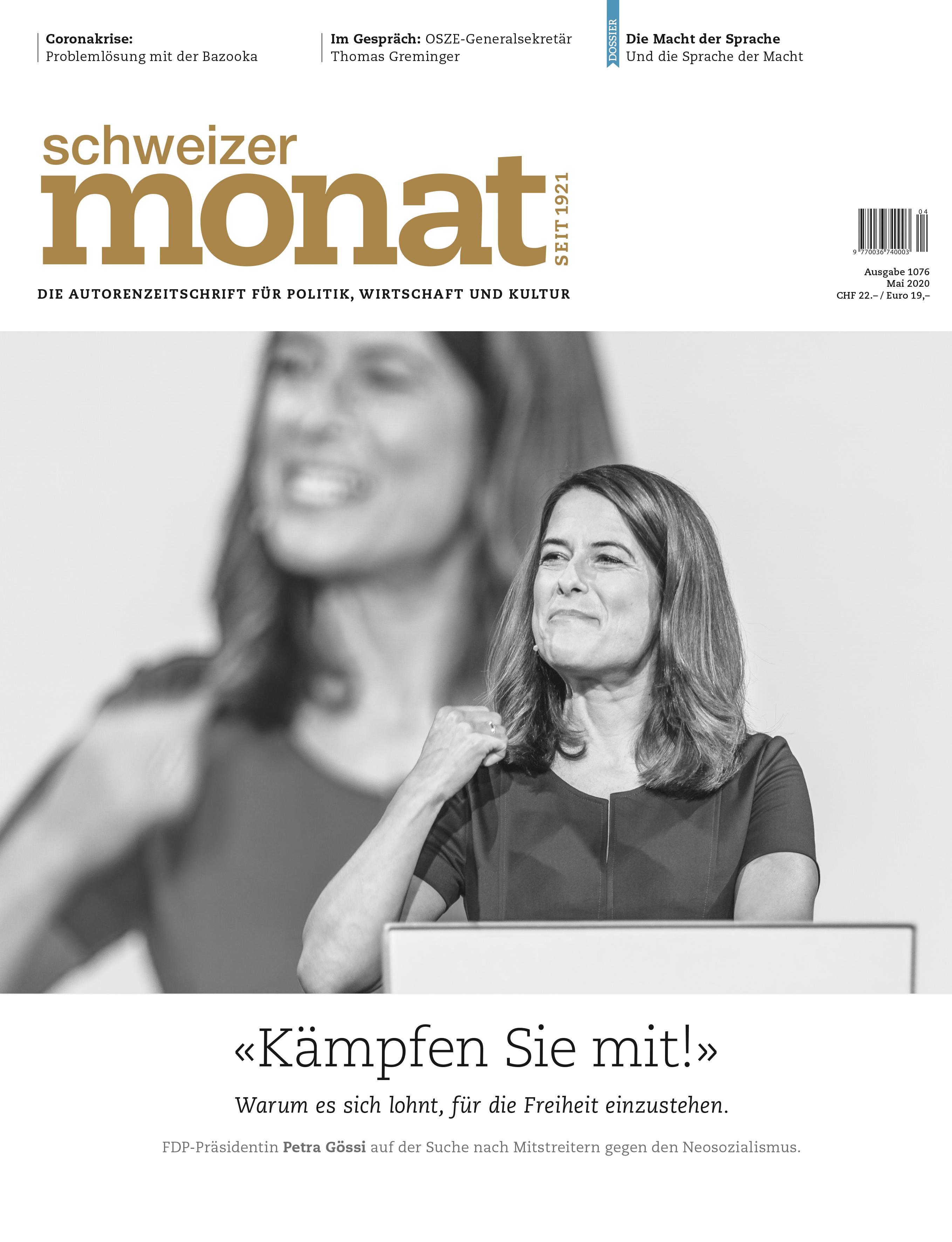 Zum Rücktritt von Petra Gössi